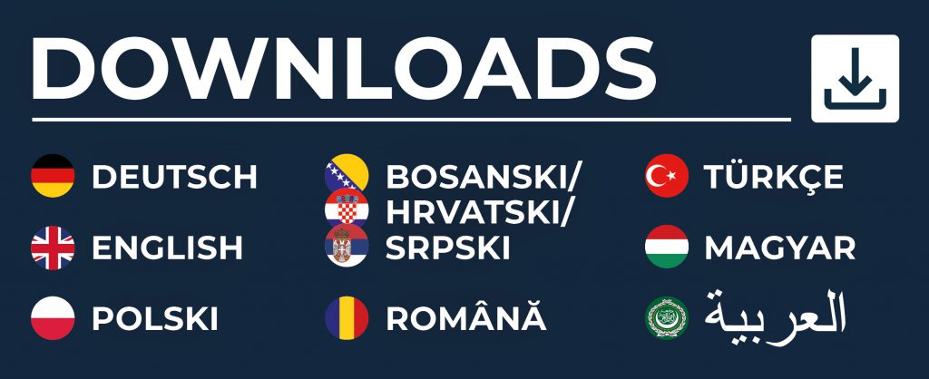 Downloads in unterschiedlichen Sprachen